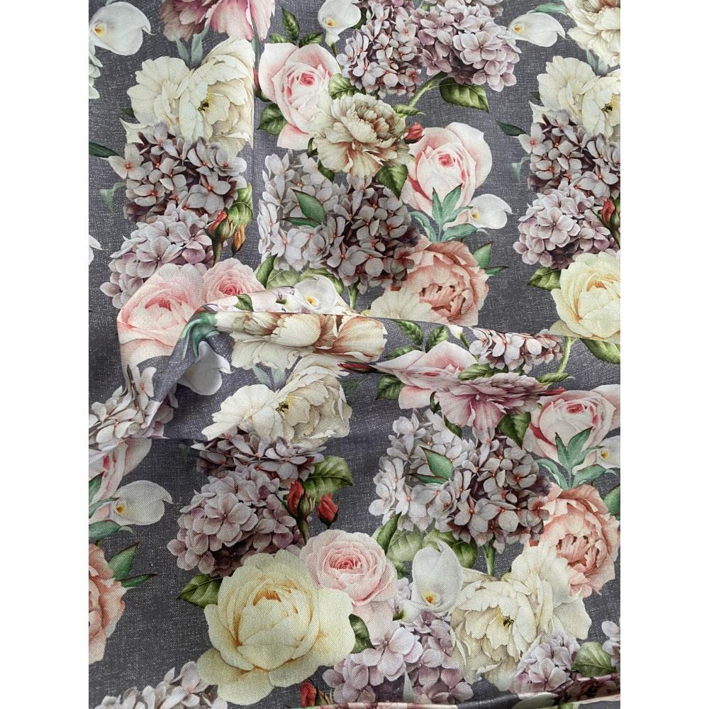 Tessuto con fiori