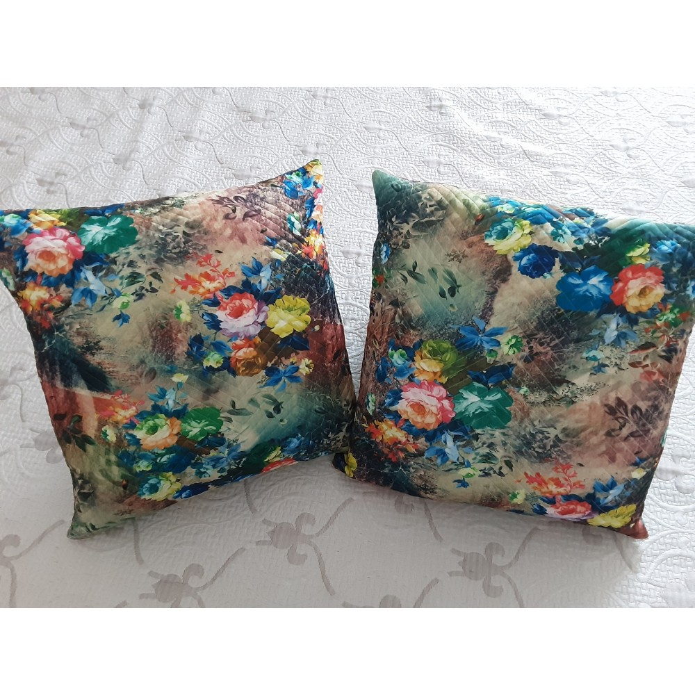 Cuscino Flowers design